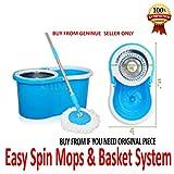 Best Microfiber Mop - URVI Magic Spin Mop 360° Rotating Pole Review