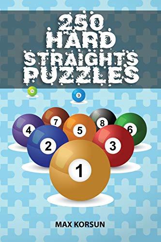 250 Hard Straights Puzzles por Max Korsun