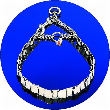 luvmydog-worldwide-neck-tech-fun-stainless-steel-martingale-snap-hook-flat-collar-60cm-24