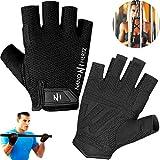 Handschuhe für Gewichtheben Crossfit Workout Fitness | Schwielen-Schutz Fitnessstudio...