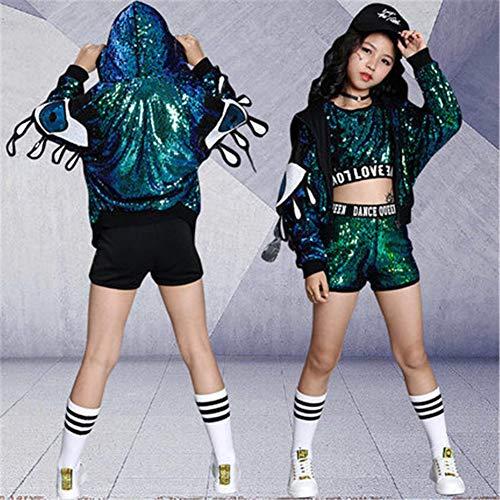 b9edec9c6143 XCR Costumi per Bambini Costumi per Cappotti di Paillettes per  Abbigliamento da