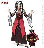 Vivien robe femme taille 38–46 Rouge Rouge/Noir Taille 38
