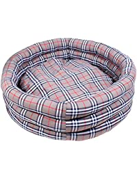 DOUGE COUTURE Designer Check Bucket Bed Cream Color