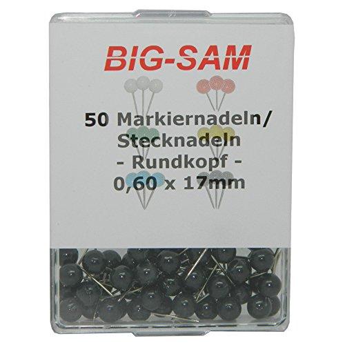 big-de-sam-30012-50-staples-alfileres-negro