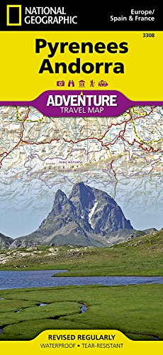Pyrenees and Andorra (Adventure map) por National Geographic Maps - Adventure