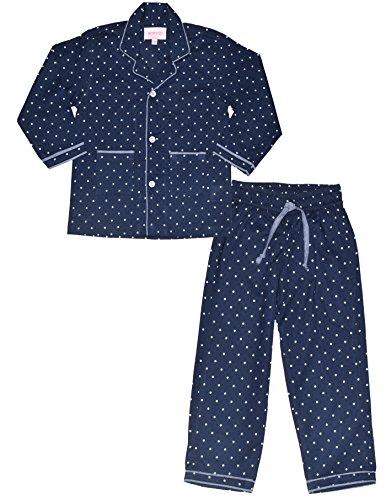 f740f1d52c ShopMozo - Blue Polka Dots Printed Girls Night Suit (Girls Night Dress) -  IndyaGadgets.com