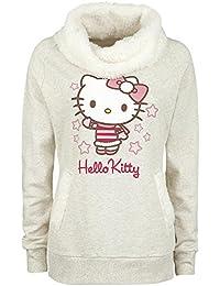 Hello Kitty Girl-Sweat-Shirt beige meliert