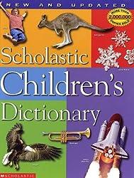 Scholastic Children's Dictionary by Scholastic Inc. (2002-06-01)