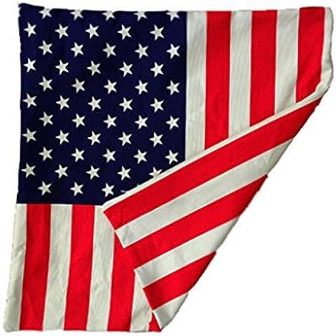 Cojines decorativos del amortiguador de la almohadilla del tiro del estilo occidental, la bandera americana