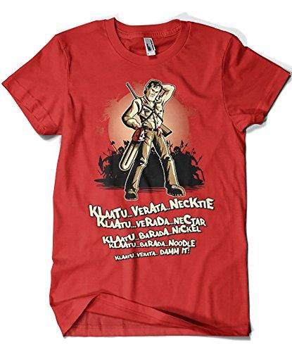 Camisetas La Colmena Herren T-Shirt Rot rot Rot