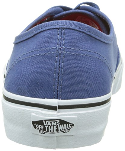 Vans Authentic, Unisex-Erwachsene Sneakers Blau (Black/Pewter Checkerboard)