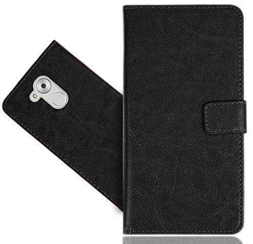 Preisvergleich Produktbild Huawei Honor 6A Handy Tasche, FoneExpert® Wallet Case Cover Genuine Hüllen Etui Hülle Ledertasche Lederhülle Schutzhülle Für Huawei Honor 6A