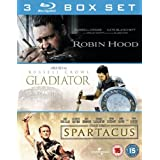 Robin Hood / Gladiator / Spartacus [Blu-ray]