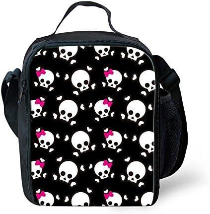 Nopersonality Sac à dos et boîte à lunch Pack Pack Pack Lot de 2 pièces pour l'école éléHommes taire enfants S Skull-3 B07G749JM8 | Réputation D'abord  00655a