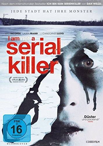 I am not a Serial Killer - Uncut [Blu-ray] [Limited Edition] (Das Killer-buch Serial Killers)