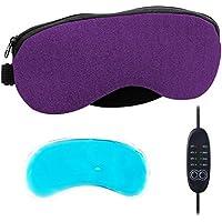 AOOPOO Schlafmaske mit Kühlkissen Beheizte AugenmaskeTemperatur Kontrolle Entworfen um Entlasten Blepharitis,... preisvergleich bei billige-tabletten.eu