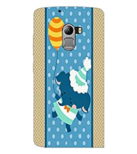 PrintDhaba Cartoon D-5807 Back Case Cover for LENOVO K4 NOTE A7010a48 (Multi-Coloured)