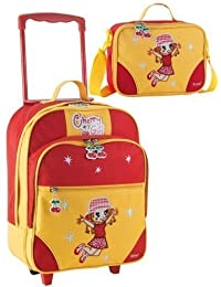 """Kinder-Trolley-Set - 2-teilig - Trolley u. """"Cherry Girl"""""""