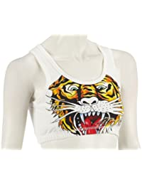 Ed Hardy Sports sports bra tiger WSPTIG051 Damen Bustier