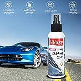 Parabrisas del automóvil Revestimiento de cerámica líquido Vista Posterior Sombra Repelente a la...