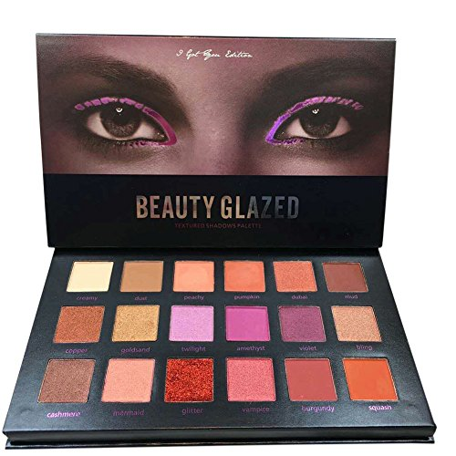 Oyalaiy 18 couleurs Ombre ¨¤ paupi¨¨res Palette Matte Glitter Pigment Texture Eye Shadow Beauty Maquillage
