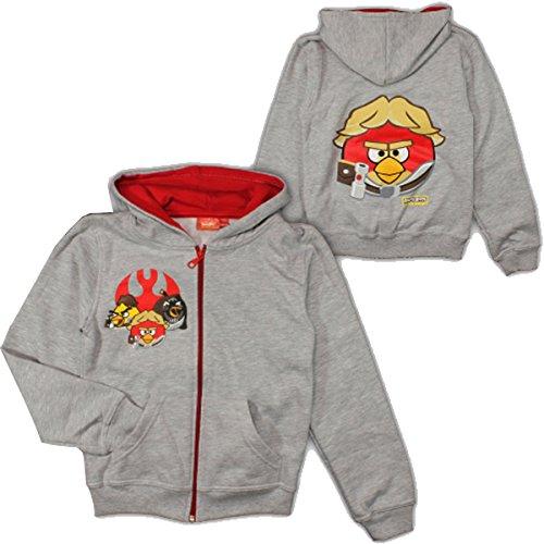 Kids Angry Birds Star Wars Sweatjacket / Hoodie Multicolore grigio