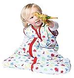 Snoozebag Bébé Gigoteuses Jungle Fun de Sac de Couchage pour bébés Design Toute l'année, en 100% Coton Respirant 6-18 Mois 2.5 Tog