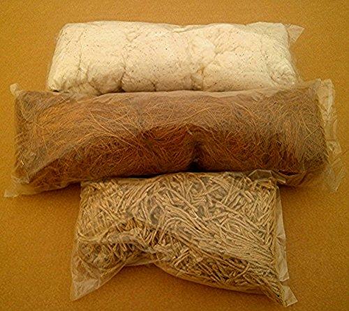 Nistmaterial Kokos - Jute -Baumwolle -