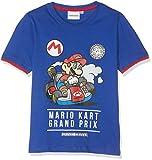 SUPER MARIO BROS 5853 T-Shirt, Bleu, (Taille Fabricant:4 Ans) Garçon