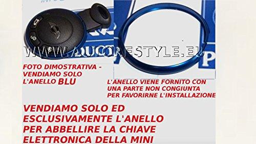 gm-production-mr-blu-solo-anello-ring-decorativo-cromato-per-guscio-chiave-telecomando-bmw-mini-jcw-