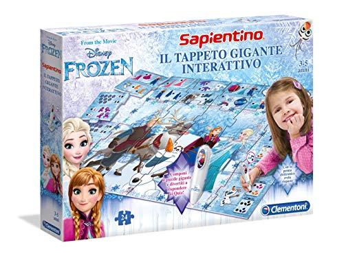 Clementoni 13304 - Frozen - Il Tappeto Gigante Interattivo, Multicolore