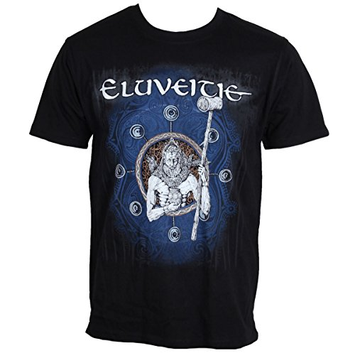 Maglietta da uomo ELUVEITIE-NAMELESS-BLK-Nuclear Blast-2382, Uomo, Black, L