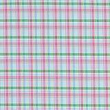 Fabulous Fabrics Tessuto per Camicette Principe di Galles - Pink/Verde - Vendita al Metro da 0,5m - per Cucire Camicie, Pantaloni e Jumpsuit