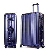 MHGAO ABS + PC Bagagli Valigia Trolley Universale con Ruote, 5,1 cm, 61 cm