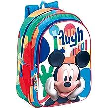 Perona 52517 Mickey Mochila escolar, 37 cm, Multicolor