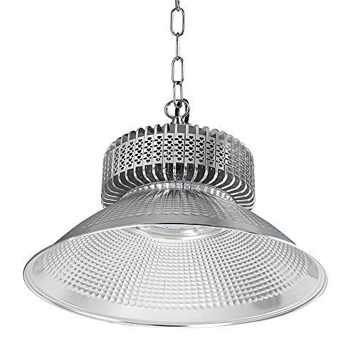DASKOO CL-G200W LED Hallenstrahler 200W Fluter Fabrik Hallenleuchte für Industriebeleuchtung Neutralweiß 3800-4200K 26000LM AC 85-265V Ersatz für 1600W Halogenlampen - Lampe Reflektor Trim