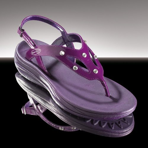 WalkMaxx Fitness-Sandale 'purple crystal', Größen:41