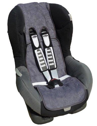 Ideenreich 2020 Nässestopper, atmungsaktive Autositzeinlage mit eingenähter, wasserfester Schutzfolie, grau