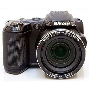 Nikon Coolpix L120 Digital Camera with 21x Optical Zoom (Bronze)