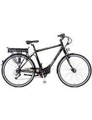 Prophete Herren E-Bike Alu-Trekking 28 Zoll E-Novation Mittelmotor Licensed By Jd, Glanzschwarz, Rahmenhöhe: 52.0 cm, Reifengröße: 28 Zoll (71 cm), 51054