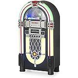 Ricatech RR1000 - jukeboxes (30W, CD, CD-R, CD-RW, AM, FM, 88 - 108 MHz, 530 - 1610 kHz, 3.5 mm) Negro