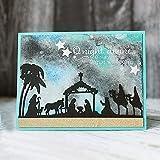 Kuizhiren1 DIY Metall Stanzformen f�r Karten, Krippe, DIY Scrapbook Pr�gung Papier Karten Album Craft Schablone - Silber