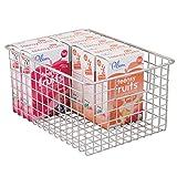 mDesign Panier de Rangement Polyvalent - boîte en métal pour la Cuisine, Le...
