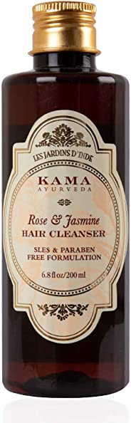 Kama Ayurveda Rose & Jasmine Hair Cleanser (Shampoo), 200ml