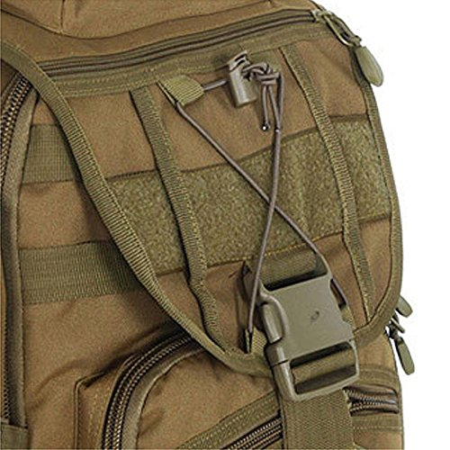 GOUQIN Outdoor Rucksack Klassische Mode Den Multifunktionshebel 50 L Outdoor Rucksäcke Taschen Kombination Klettern Camping Schultern Paket Neue Rucksack Grün