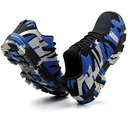 letter54 Sneakers Faule Schuhe Outdoor OnSchuheHerren Atmungsaktive Sneaker,Bequeme Turnschuhe, Jungen 2019 New Leichte Atmungsaktive Luftkissen-Sicherheitsschuhe Für Herren Camouflage