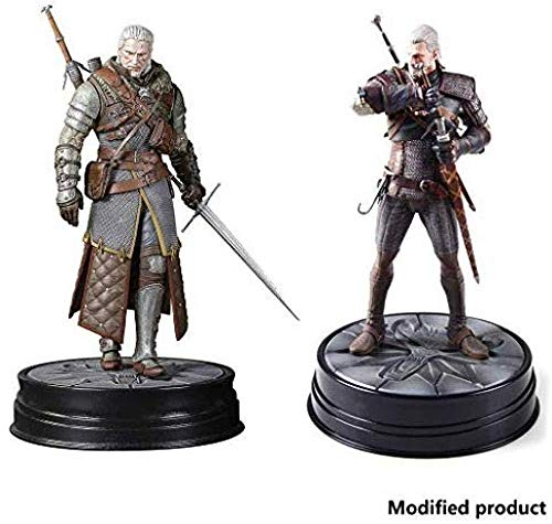 lkw-love The Witcher 3: Wild Hunt: Gran Maestro Geralt Ursine Figurine - Precision Precision Sculpture - High 9 5 Inches 2 Pieces