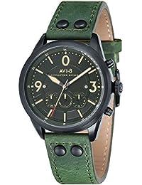 Avi de 8 Unisex Reloj de pulsera Cronógrafo Cuarzo Piel Lancaster Bomber – AV de 4024 – 04