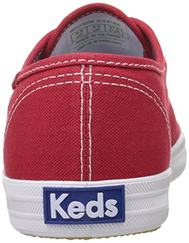 Keds - Champion Core Text-Navy, Sneakers da donna Rosso (Ocean)