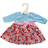 Heless 1224 - Vestitino per bambole, modello Happy, incude giacca e gonna, misura 28-35cm